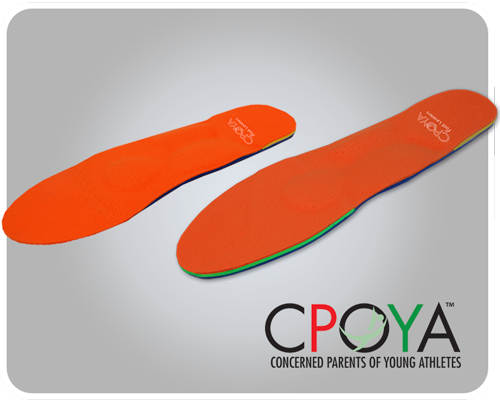 CPOYA custom orthotic for young athletes